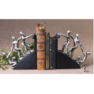 Helping Hand Bookends S/2