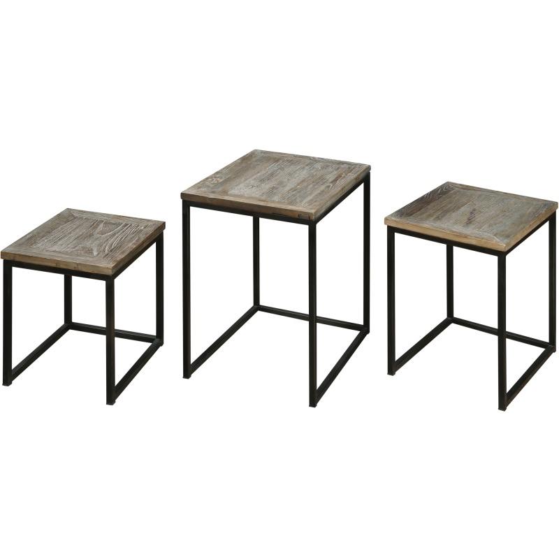 Bomani, Nesting Tables, Set/3