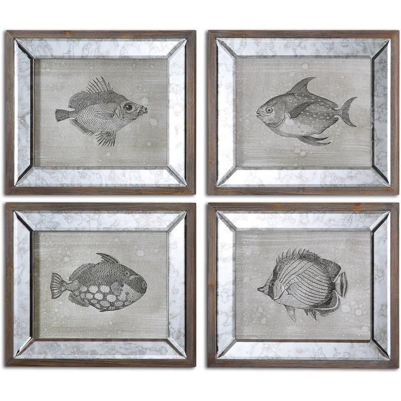 Mirrored Fish, S/4