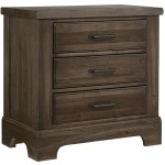 Cool Rustic Night Stand - Mink
