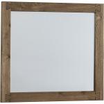 Dovetail-Sun Bleached White Landscape Mirror