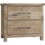 Dovetail-Sun Bleached White Night Stand
