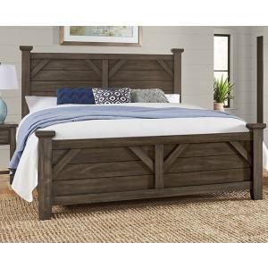 Chestnut Creek King Plank Bed