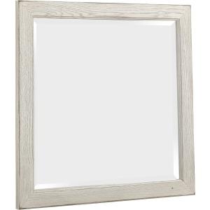 Highlands-Aged White Landscape Mirror