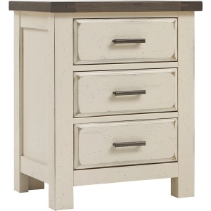 Chestnut Creek 3 Drawer Night Stand