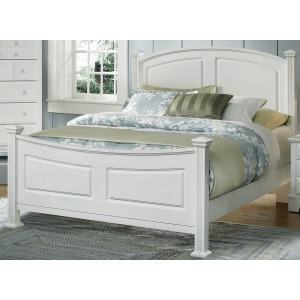 Barnburner Full Panel Bed -Snow White
