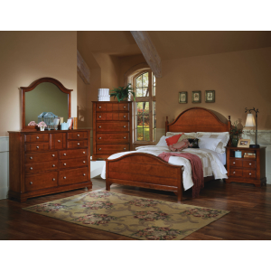 Cottage Cherry Bedroom Set
