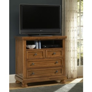 Reflections Entertainment Center - Pine
