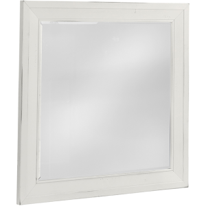Maple Road Landscape Mirror - Chalky White