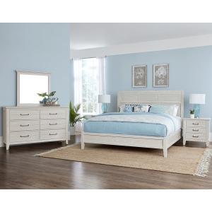 Passageways 4PC Queen Bedroom Package -Oyster Grey