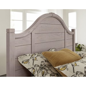 Bungalow Arch Queen Headboard - Grey/Folkstone