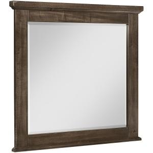 Cool Rustic Landscape Mirror - Mink