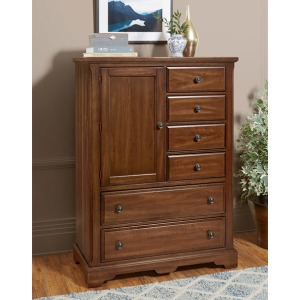 Heritage 6 Drawer 1 Door Chest