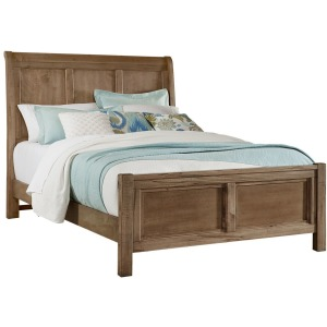 Chestnut Creek King Sleigh Bed - Fawn