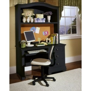 Computer Desk with Computer Hutch