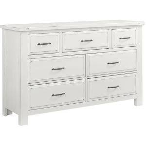 Maple Road Triple Dresser - Chalky White