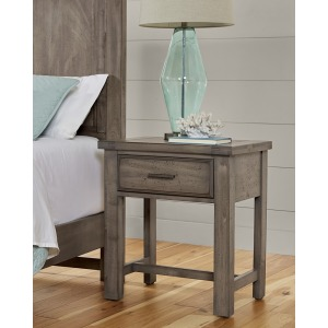 Centennial Solids Nighstand -Pewter Grey