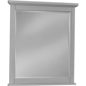 Bonanza Small Landscape Mirror - Gray