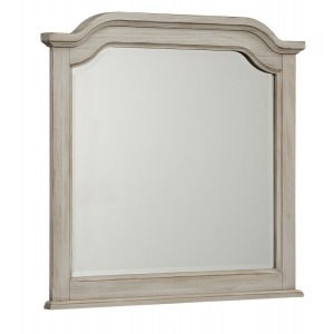Arrendelle Collection Mirror in Rustic White