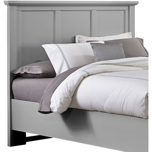 Bonanza Full Mansion Headboard - Gray