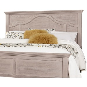 Bungalow Home Queen Mantel Headboard - Dover Grey/Folkstone