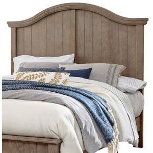 Casual Retreat Queen Arch Headboard - Driftwood