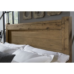 Dovetail Queen Poster Headboard - Natural