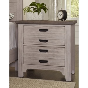 Bungalow 2 Drawer Nighstand