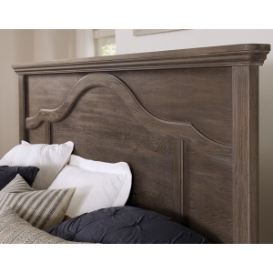Bungalow Queen Mantel Headboard