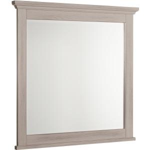 Bungalow Landscape Mirror - Dover Grey/Folkstone