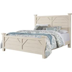 Chestnut Creek Queen Plank Bed