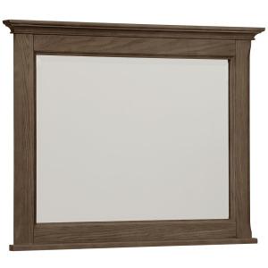 Heritage-Cobblestone Oak Landscape Mirror