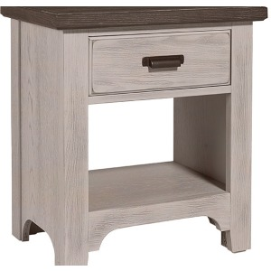 Bungalow Nightstand - 1 Drawer