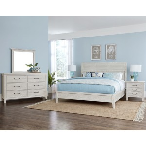 Passageways 4PC King Bedroom Package -Oyster Grey