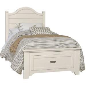 Bungalow Twin Arch Storage Bed - Lattice