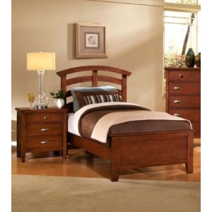 Twin Arch Storage Bed
