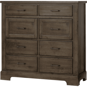 Cool Rustic Linen Chest - Mink