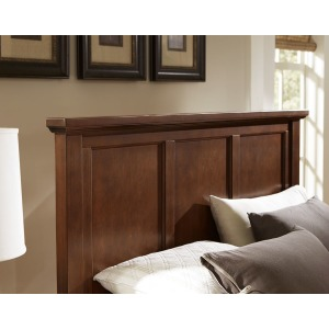 Bonanza Mansion Queen Panel Headboard - Cherry
