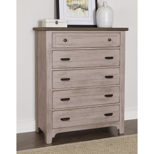 Bungalow 5 Drawer Chest
