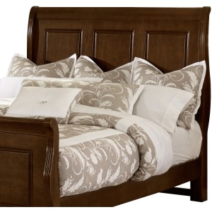 French Market King Sleigh Headboard - French Cherry