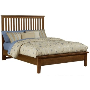 Artisan Choices King Slat Bed with Low Profile Footboard