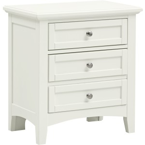Bonanza 2 Drawer Nightstand - White