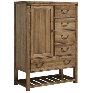 Sedgwick-Natural Maple Chest - 5 Drwr