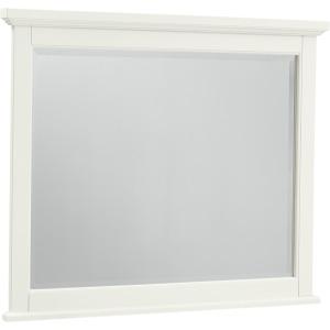 Bonanza Landscape Mirror - White