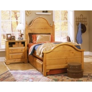 Twin Panel Double Slotted Bed
