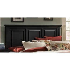 Mansion Queen Panel Headboard - Ebony