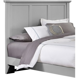 Bonanza Queen Mansion Headboard - Gray