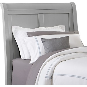Bonanza Sleigh Twin Headboard - Gray