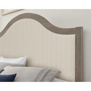 Casual Retreat-Driftwood Full Upholstered Headboard