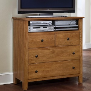 Simple Cherry Collection Entertainment Center